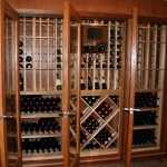 Custom Made Wine Closet